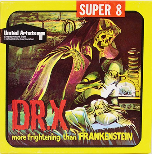 Doctor X Super 8 Film box