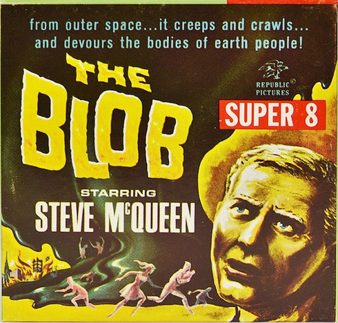 The Blob Super 8 film box