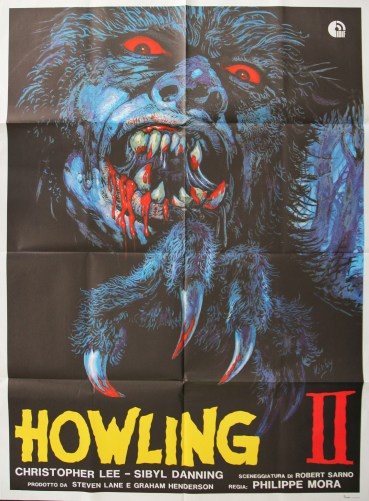 howling II Italian poster