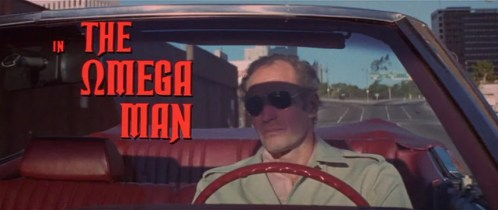 The Omega Man title shot