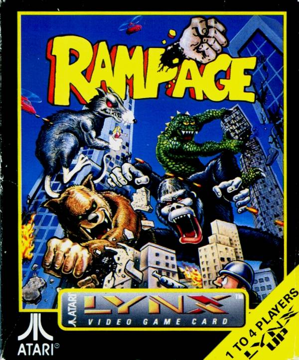 rampage video game wii
