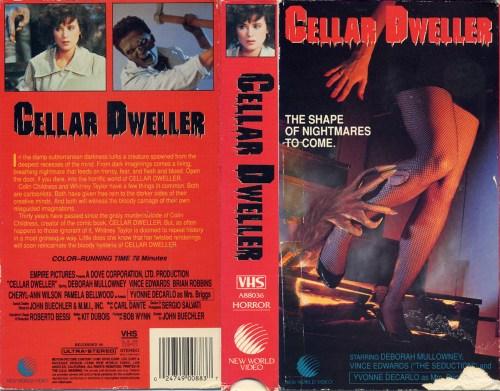Cellar-Dweller-reviews-New-World-Video-VHS-sleeve