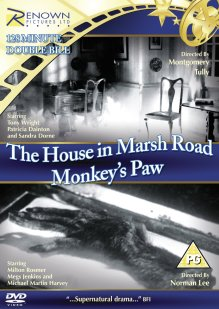 house in marsh road + monkey's paw dvd