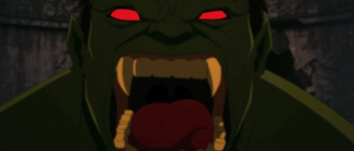 Hulk as vampire from Avengers Assemble
