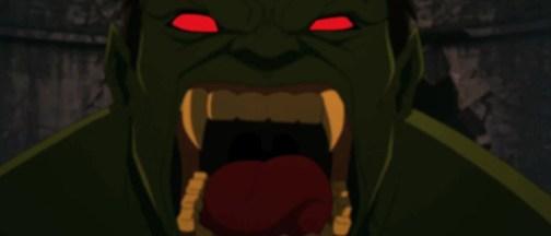 Hulk as vampire from Avengers Assemble
