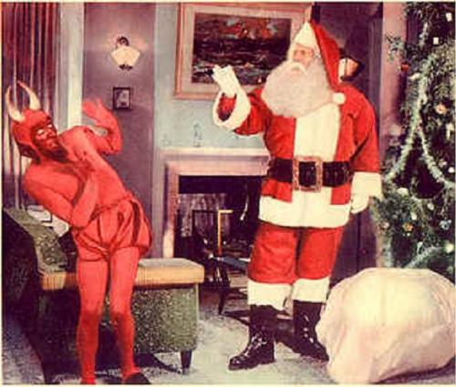 Santa Claus vs The Devil