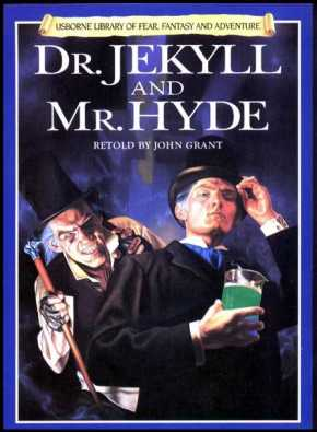 usborne library of fear fantasy and adventure dr jekyll and mr hyde