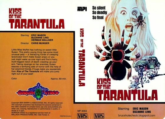 Kiss of the Tarantula US MPI Gorgon Video VHS