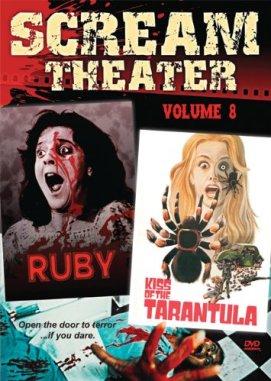 scream theater ruby kiss of the tarantula dvd