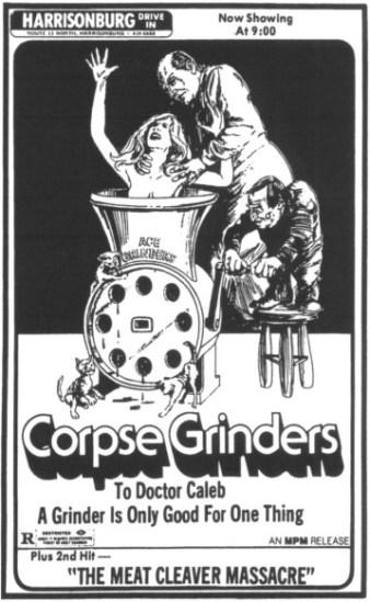 corpse grinders-meat cleaver massacre ad mat2