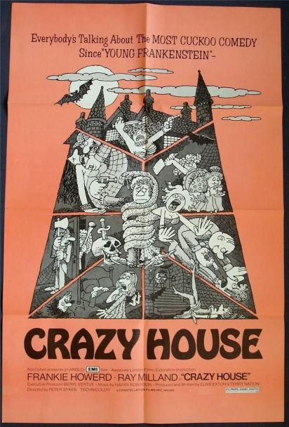 crazy house house oin nightmare park frankie howerd