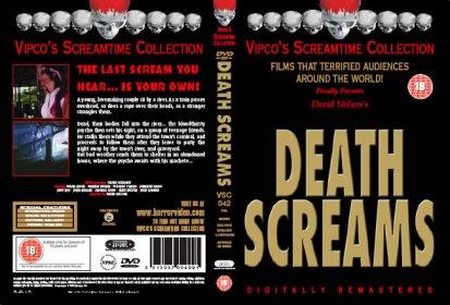 death screams 1982 vipco VHS sleeve