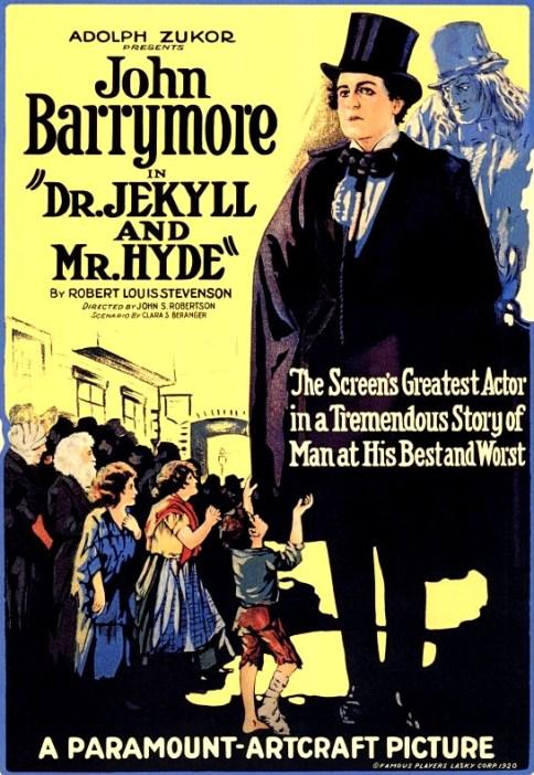 Dr Jekyll & Mr Hyde Barrymore 2