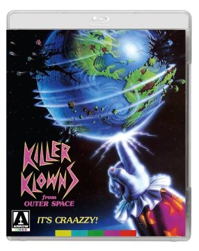 killer klowns from outer space arrow video blu-ray