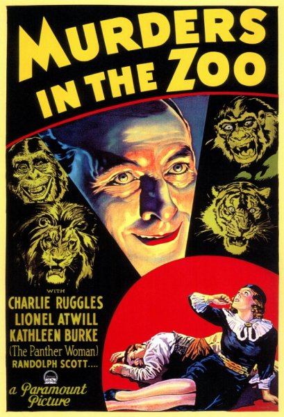 murders in the zoo.poster