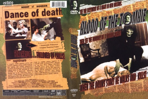 blood of the zombie dvd