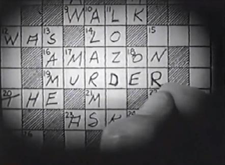 house of mystery 1934 crossword