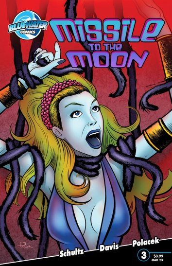 missile to the moon blue water comics
