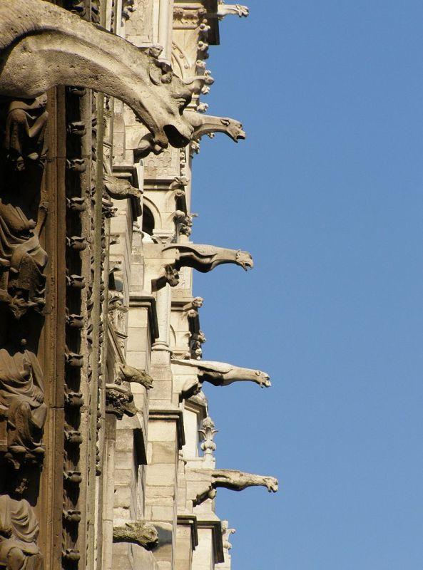 Notre-Dame de Paris gargoyles