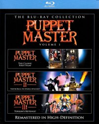 Puppet Master I + II + III Blu-ray