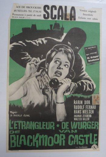 Strangler of Blackmoor - poster