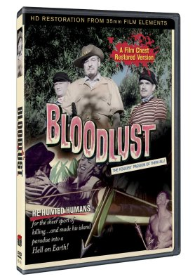 Bloodlust restored Film Chest DVD