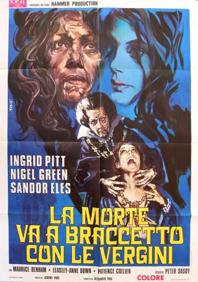 Countess Dracula la morte va a braccetoo con le vergini