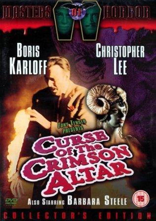 Curse of the Crimson Altar DVD