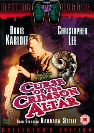 Curse of the Crimson Altar DVD