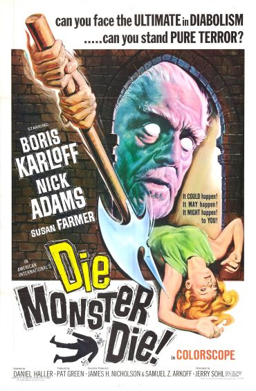 die_monster_die_poster_artwork by Reynold Brown