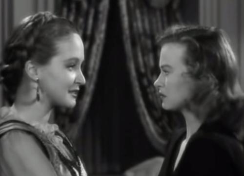Nina Foch + Osa Massen in Cry of the Werewolf 1944
