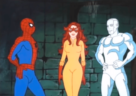 Spider-Man Firestar Iceman