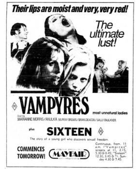 VAMPYRES-SIXTEEN