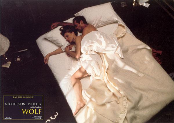 Wolf bed scene handcuffs