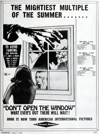 dont open the window