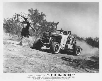 Eegah dune buggy vs caveman