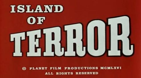 Island of Terror title caption