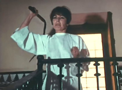 Viveca Lindfors cracks a whip!