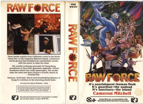 1982 - Raw Force (VHS)