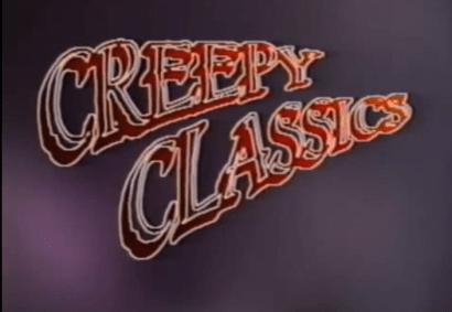 Creepy Classics Vincent Price VHS