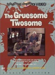 Gruesome Twosome Something Weird DVD