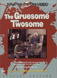 Gruesome Twosome Something Weird DVD