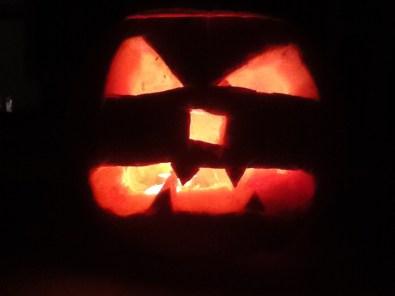 Halloween lantern by Dylan