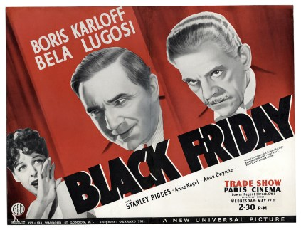 Poster - Black Friday (1940)_02