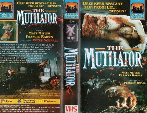 The Mutilator Video for Pleasure VHS