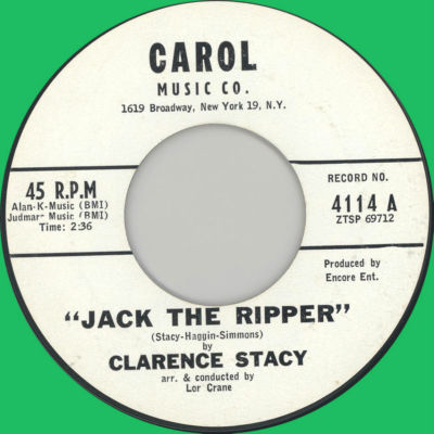 Jack the Ripper Clarence Stacy