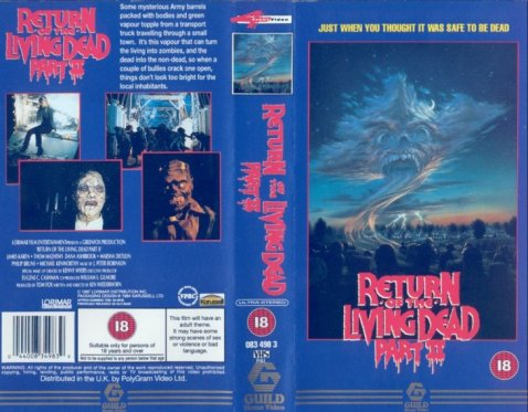 Return+of+the+Living+Dead+Part+II+VHS
