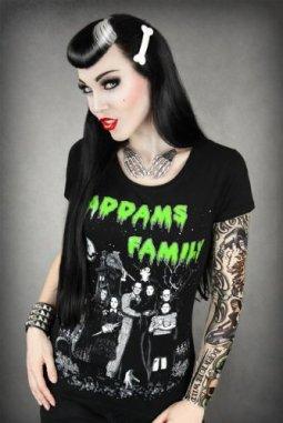 Addams-Family-t-shirt