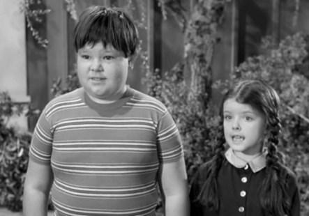 Pugsley-Ken-Weatherwax-and-Wednesday-Lori-Loring-Addams