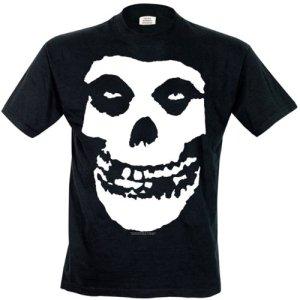 Misfits-skull-black-t-shirt